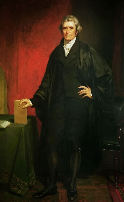 chief justice john marshall and the constitution as a supreme law John marshall: john marshall, fourth chief justice of the united states and principal founder of the us system of constitutional law as perhaps the supreme court's most influential chief.
